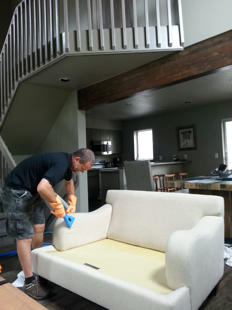 Breckenridge upholstery cleaning