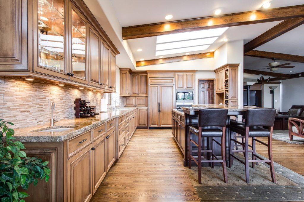 Breckenridge house cleaning services kitchen